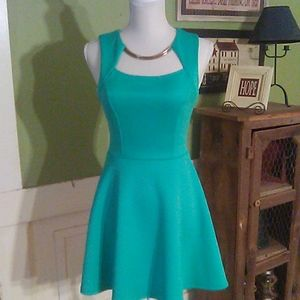 Chico evening dress teal